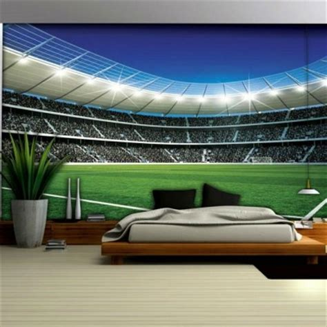 football murals for bedrooms the beautiful game archives football bedrooms