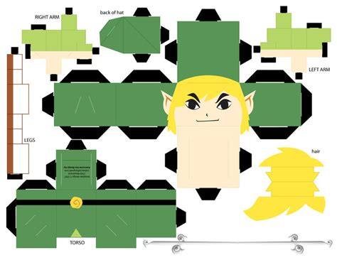 Papercraft Template Maker - papercraft link template