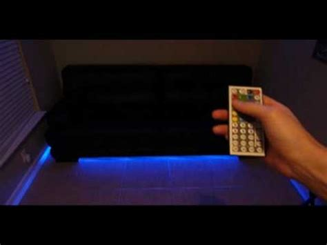 sofa with lights underneath led lighting how to make your modern