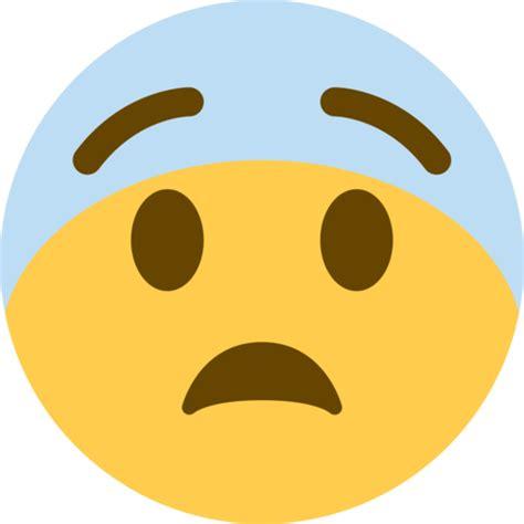 imagenes de emoji asustado cara asustada emoji