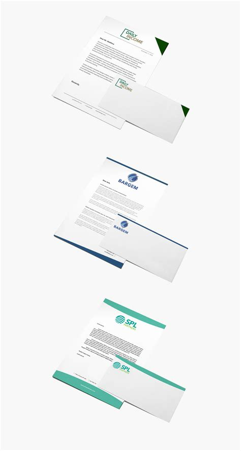 financial services letterhead techbear