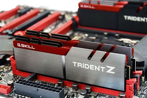 Ram G Skill Trident X Series g skill trident z ddr4 memory shown at computex 2015