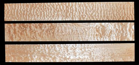 guitar neck blanks curly maple quilted maple honduran