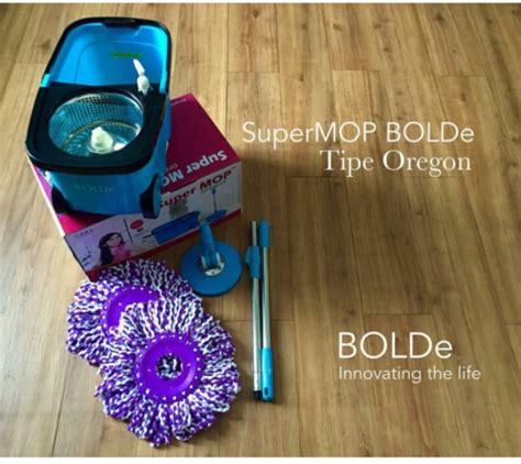 Alat Pel Mop Bolde Oregon Stainless Botol Pewangi Roda supermop oregon alat pel lantai bolde otomatis pemeras stainless steel roda