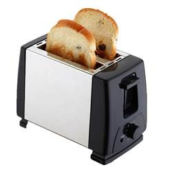 Sliced Bread Machine Electric Automatic 2 Slice Bread Toast Toaster Sandwich