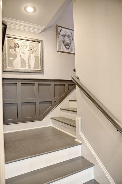wainscoting stairs ideas  pinterest traditional floor mirrors painted wainscoting