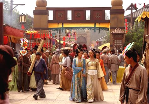 film set in china the ancient city of dunhuang dunhuang movie set