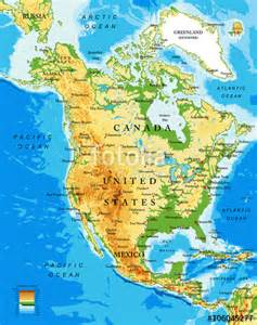 a physical map of america quot physical map of america quot stock image and royalty