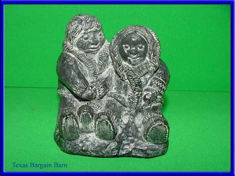 Soapstone Canada - wolf sculptures canada carved soapstone figurine eskimo ebay