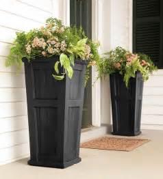 front porch planters garden ideas