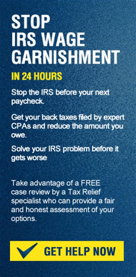 irs bank levy what is the difference between a wage garnishment and a