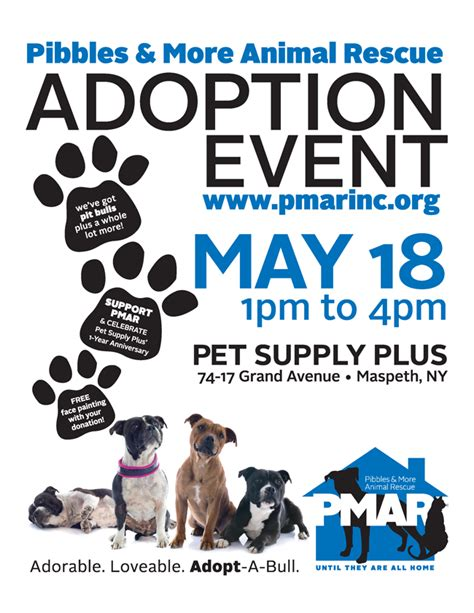 adoption events nyc pet supplies plus adoption event maspeth ny pibbles more animal rescue