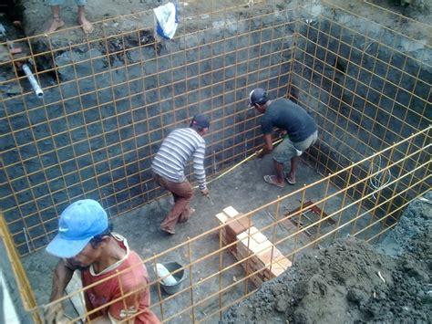 membuat ground rumah metode pengerjaan dan konstruksi ground tank