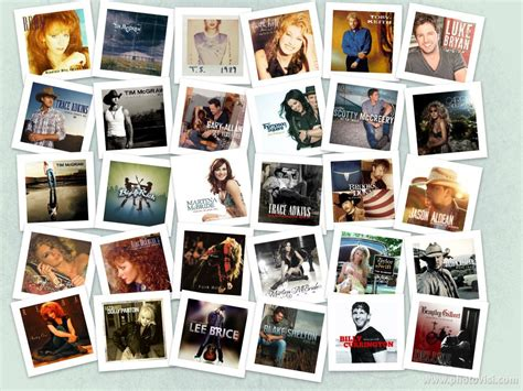 country albums country album collage my idol reba mcentire