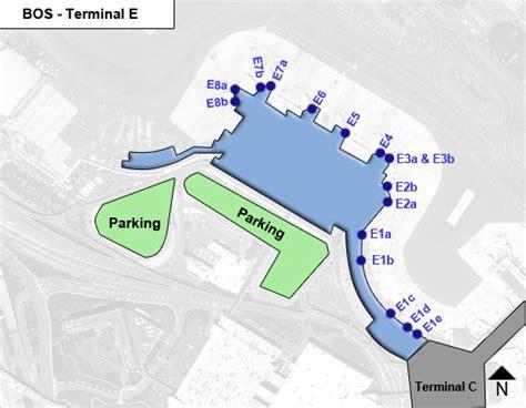 terminal b logan map boston logan airport bos terminal e map