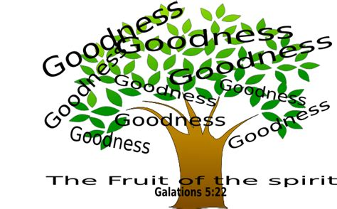 fruit of the spirirt clip at clker vector clip goodness tree clip at clker vector clip