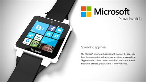 Microsoft Smartwatch Rumored to be Coming Soon : Geek on Gadgets