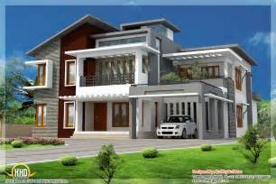 Modern Style Home by July 2012 Kerala Home Design And Floor Plans
