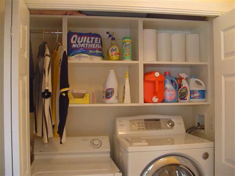 Laundry Closet Organizer by Laundry Closet Shelving Images Brucall
