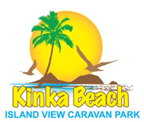 logo design yeppoon home kinka beach island view caravan park