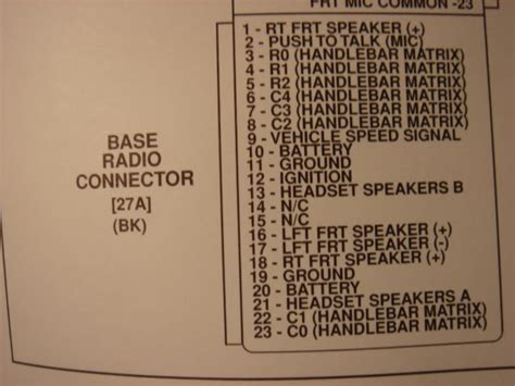 harley radio wiring diagram 27 wiring diagram images