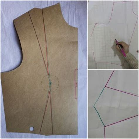dress pattern without darts tutorial how to move darts without slashing your pattern