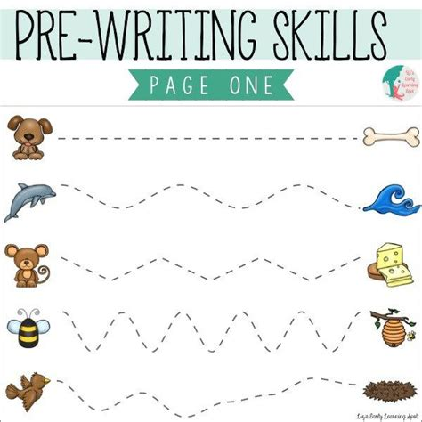Pre Writing Strokes Worksheets by 1000 Ideas About Prewriting Skills On