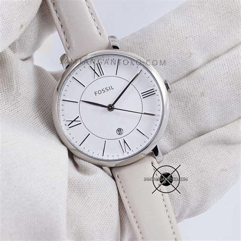 Guess Logo G Kulit Putih harga sarap jam tangan fossil jacqueline kulit es3793