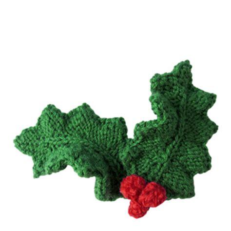 Holly Leaf Pattern Knitting | holly leaf knitting patterns a knitting blog