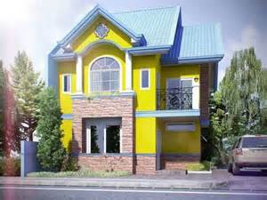 house design color yellow colore muri esterni di casa foto design mag