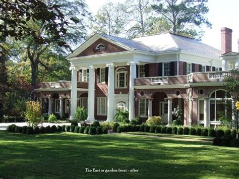 old southern style house plans georgia southern plantations southern homes plantations