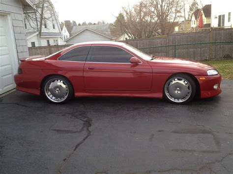 lexus sc400 red ny 1995 sc400 red renn red good mods club lexus forums