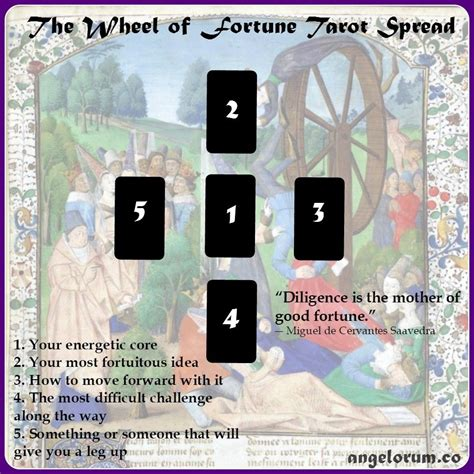 libro wheel of fortune the wheel of fortune tarot spread tarot