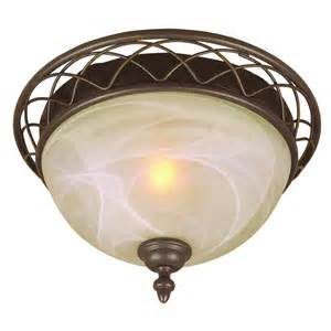 bel air lighting 2 light bronze ceiling flush mount lowe