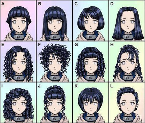anime hairstyles personality naruto s cast hair style anime jokes collection
