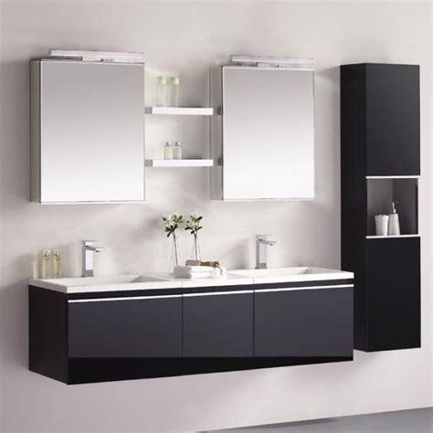 Badezimmer Unterschrank Doppel by Die Besten 25 Doppel Waschbecken Ideen Auf