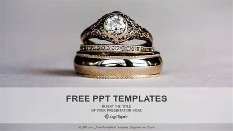 powerpoint templates jewellery diamond rings powerpoint templates