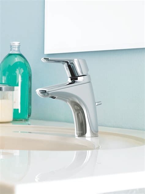 Cleaning Chrome Bathroom Fixtures Moen 6810 Method One Handle Low Arc Bathroom Faucet Chrome Touch On Bathroom Sink Faucets