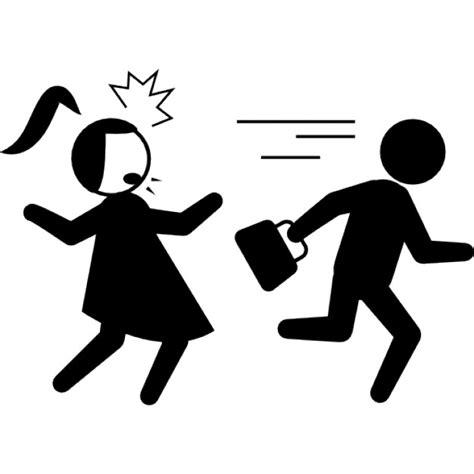 Como Buscar Record Criminal De Una Persona Funcionamiento Criminal Con La Bolsa De La Mujer Robada Descargar Iconos Gratis