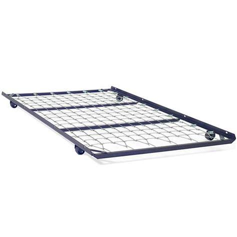 metal frame trundle bed metal trundle bed the land of nod