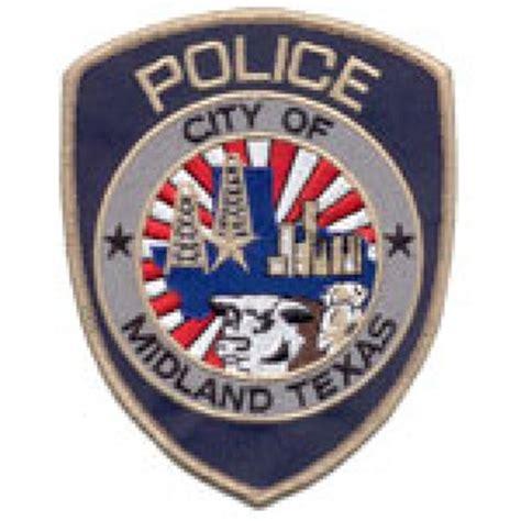 Midland Tx Arrest Records Officer Bryan Scoggins Midland Department