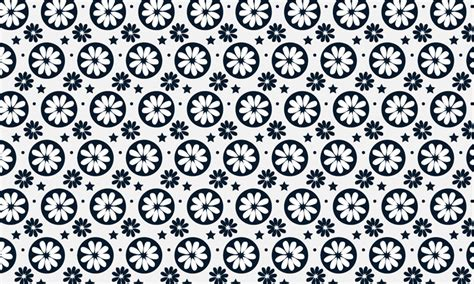 free vector pattern library free simple flower designs black and white download free