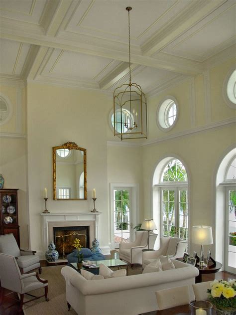 decorating with high ceilings family room best ideas about decorating tall walls trends with living