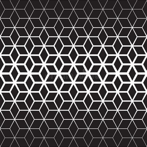 gradient background pattern vector vector seamless black and white star geometric halftone