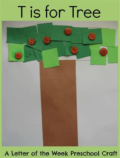 free craft letter t crafts preschool and kindergarten