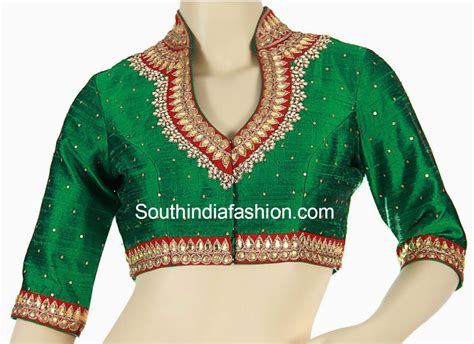 High Neck Blouse In high neck blouse fashion trends south india fashion