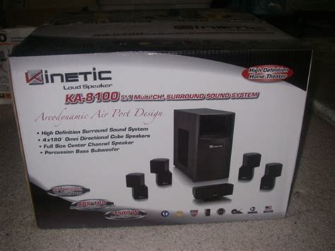 kinetic loud speaker ka 4260 5 1 multi channel