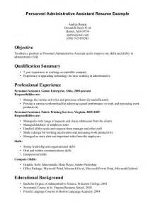 Admin Assistant Sample Resume resume job objectives administrative assistant sample resume