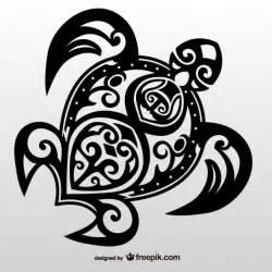Tribal sea turtle vector turtle tribal tattoo vector