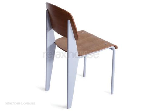 jean prouve standard chair white